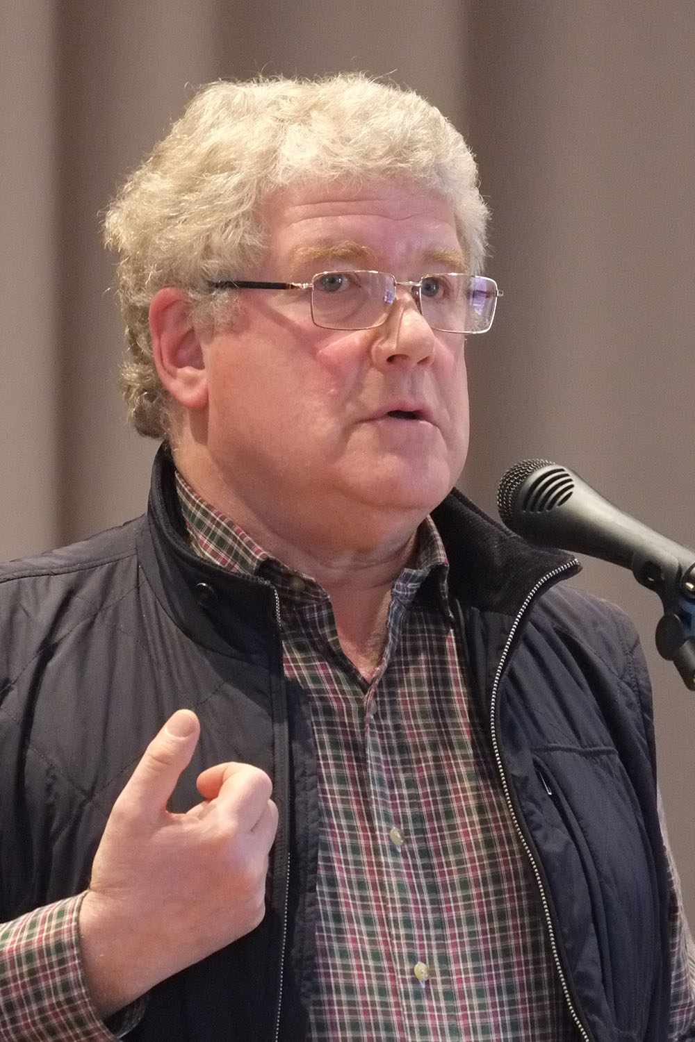 Mark Urnov. Anti war congress Moscow 2014 03 19 photo 22 cropped